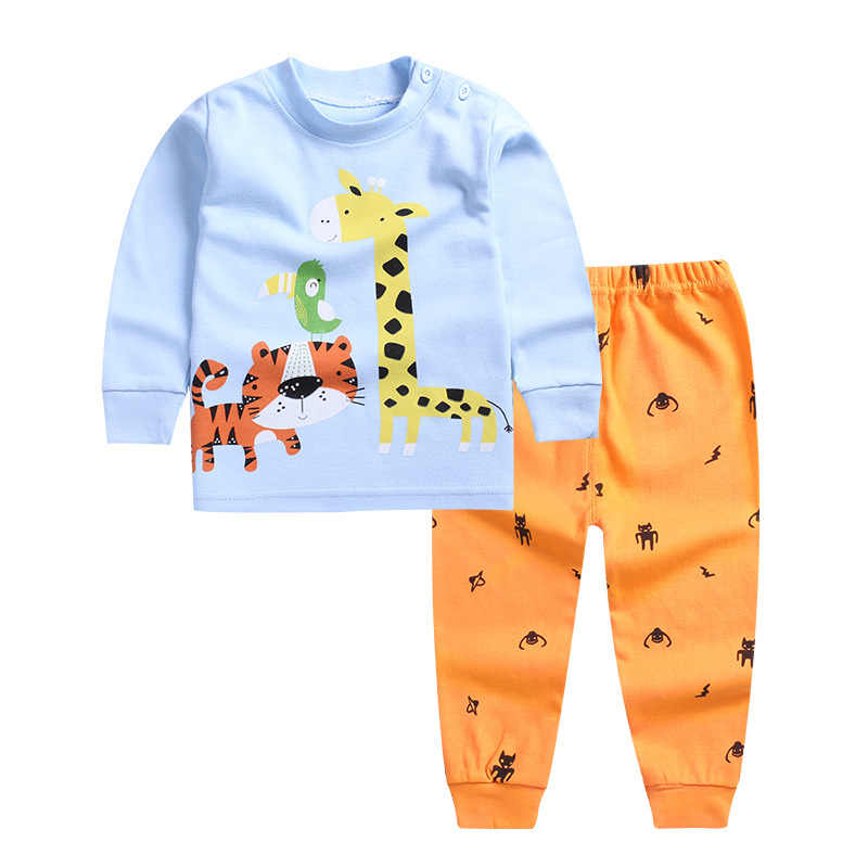 Infant Baby Clothing setss Boy Long Sleeve T-shirt+Pant Kids Spring Autumn Outfits Set Toddler DEER setss Baby Girls Clothes