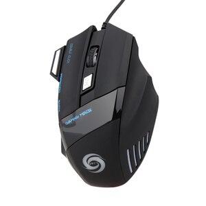 Image 5 - HXSJ 5500 DPI A868 7 boutons LED optique USB filaire souris de jeu souris pour PC ordinateur portable filaire souris de jeu