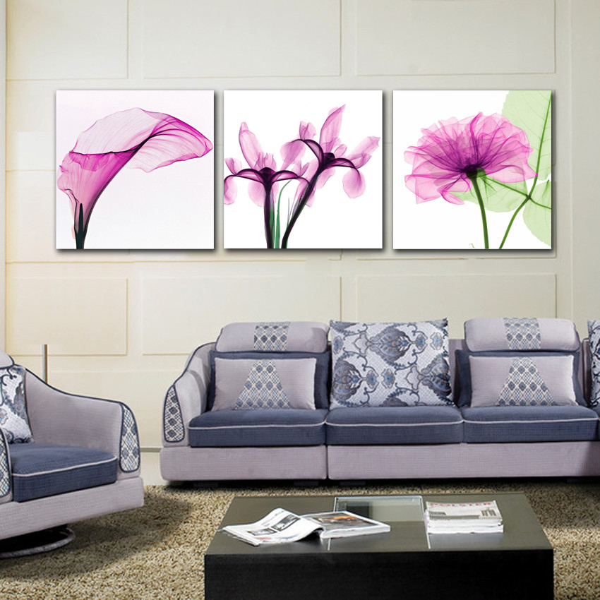 3 Panel Modern Canvas Prints Abstract