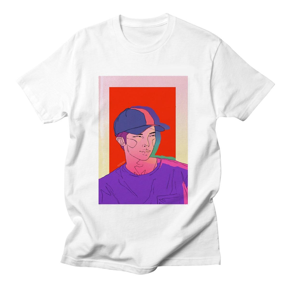LettBao 2018 Harajuku Fashion Bts Kpop Tshirt Women Cotton T Shirt Elegant Korean Style shirt camiseta mujer