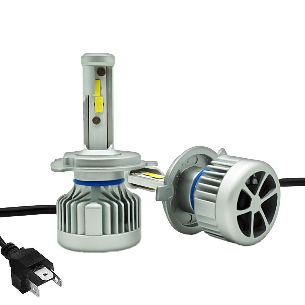 Из 2 предметов H7 H4 9005 HB3 9006 HB4 H11 H1 H8 H9 светодиодный CSP чип фар автомобиля туман лампы 10000 LM 60 Вт 12 В светодиодный лампы ДРЛ свет для авто