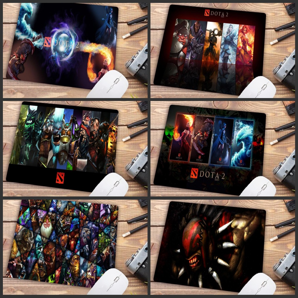 Mairuige Big Promotion Retail Style Rubber Mouse Pad Mousepad Gaming DOTA 2 Gaming Mouse Pad Designs 18 * 22 Cm Table Mat Pad