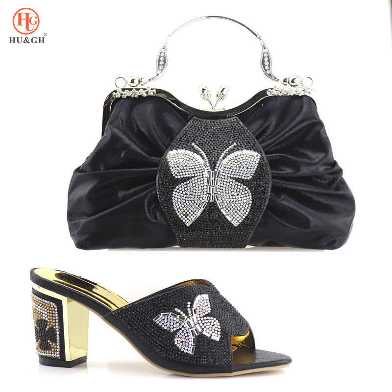 цена на 2018 Italian Shoe And Bag Set African Wedding Shoe And Bag Sets Italy Women Shoe And Bag To Match For party Free Shipping By DHL