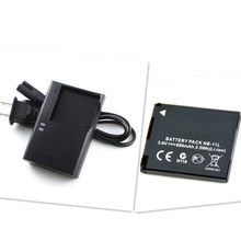 NB-11L NB11LH Battery+charger for Canon PowerShot ELPH 110 115 130 135 150 320 340 HS Digital Camera(China)
