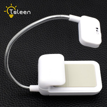 TSLEEN 2018 NEW Portable Lamp Flexible Mini Clip On Reading Light Camping Lamp For Amazon Kindle Arm Stand Bright Laptop Lamp