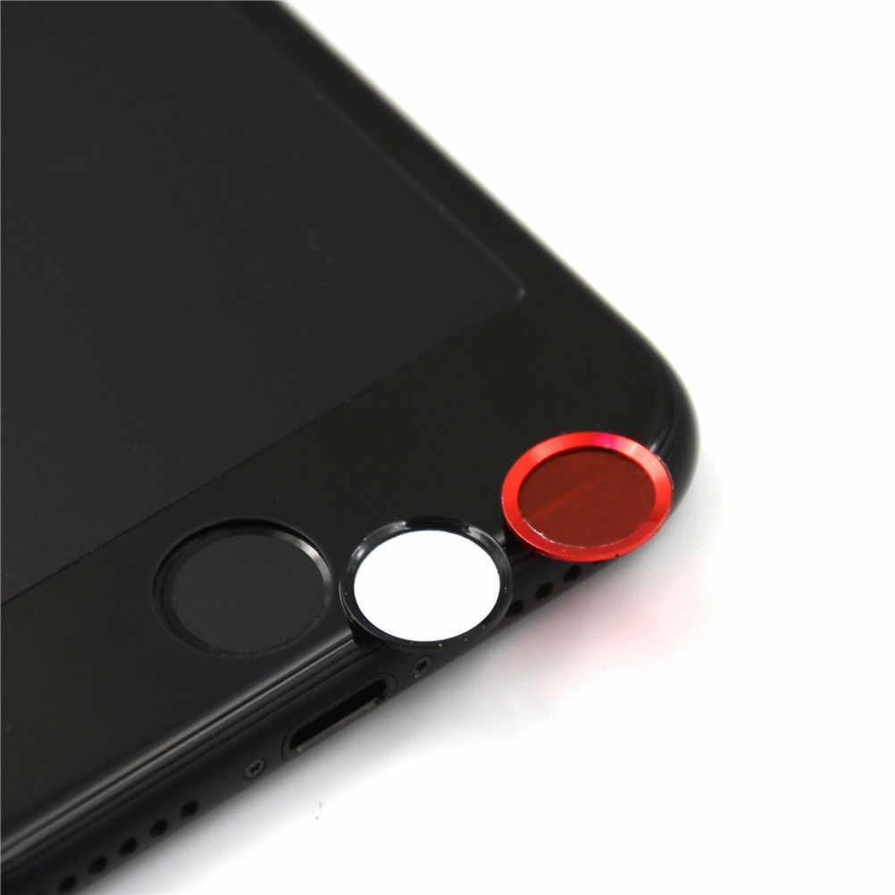 ขายร้อนสติกเกอร์ปุ่ม Home Protector ปุ่มกด Keycap สำหรับ IPhone 5s 5 SE 4 6 6s 7 Plus สนับสนุนลายนิ้วมือ TOUCH Key ID