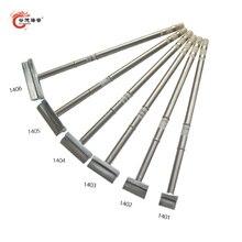 Gudhep Spatula T12-1401 1402 1403 1404 1405 1406 Welding Tips T12 Soldering Iron Tips for FX951 FX950 Soldering rework Station