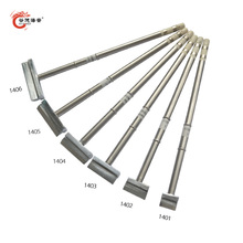 Gudhep T12 Soldering Iron Tips Spatula T12-1401 1402 1403 1404 1405 1406 for FX951 FX950 Soldering Station