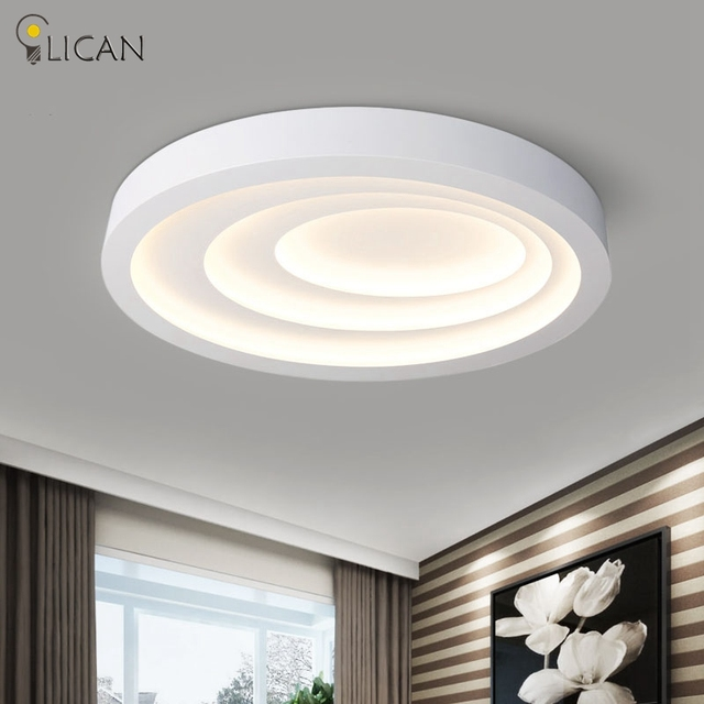 LICAN Moderne Led Deckenleuchten Für Wohnzimmer Kunst Decke Lampen Ovale  Form Weiß Esszimmer Schlafzimmer Leuchte