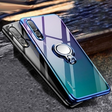 все цены на Finger Ring Stand Case For Huawei P20 Pro lite Honor 9 8X 360 Magnet Holder Coque Cover For Huawei Mate 10 20 Kickstand Cases