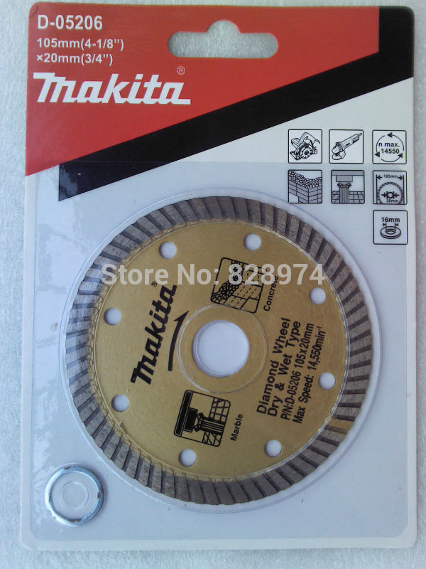 Free Shipping Makita Diamond Cutting Disc For Marble