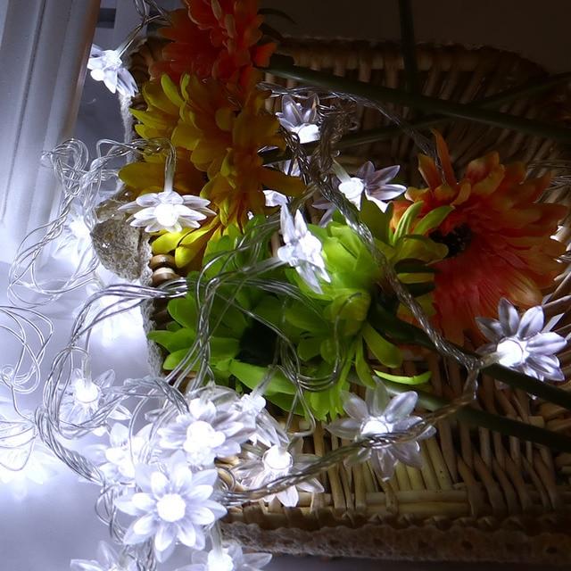 5 M 40 Bollen Kerst Slingers Lotus LED Lichtslingers Tuin Armaturen ...