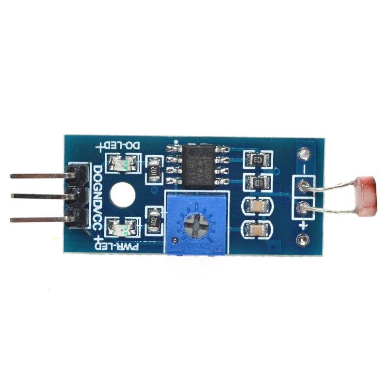 Livraison gratuite Module de détection de lumière Module de capteur photosensible pour Arduino