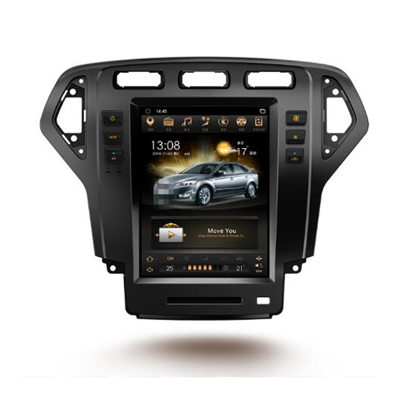 CHOGATH 10.4 ''android 7.1 Vertical Screen 2+32G Car Radio GPS Multimedia Stereo for Ford Mondeo 2007 2008 2009 2010 with maps