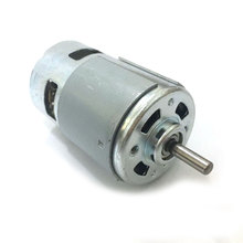 DC Electric 12V 24V 775 motor for drill High speed Large torque  ball bearing tools Round Shaft 250 w high power 12v 24v dc motor 885 large torque ball bearing tools low noise