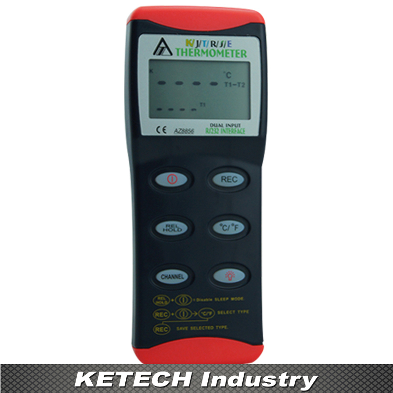 AZ-8856 RS232 K/J/T/R/S/E Handheld Digital Thermometer j k institute lasser j k lasser s your income tax 2002