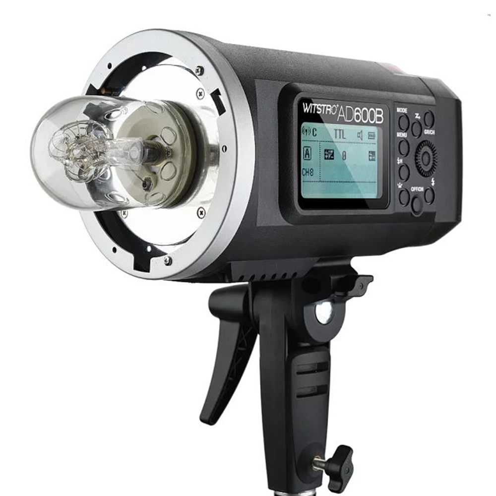 Godox AD600B 600W TTL All in One Outdoor Studio Flash with 2.4G Wireless X1 System Build in 8700mAh Li on Battery Bowens Mount