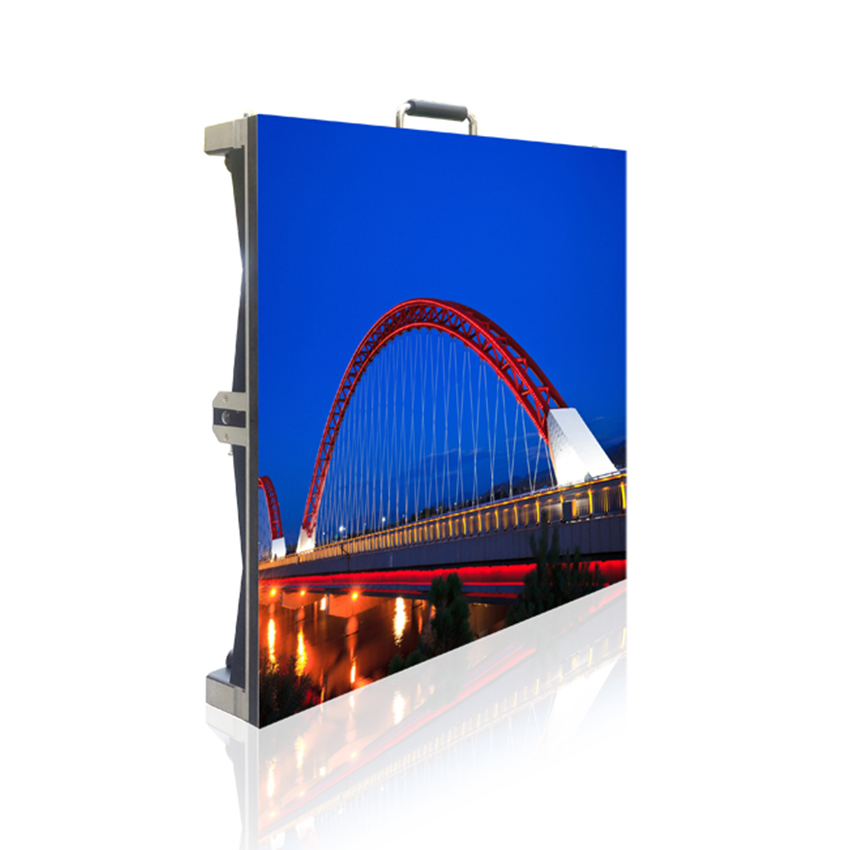 P3.91 Indoor Led Screen SMD1921 500x500mm Die Cast Aluminum Cabinet 128*128dots RGB For LED Display Advertising Panel