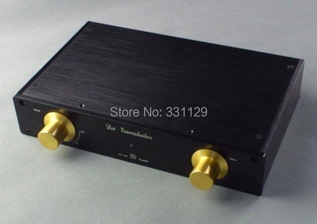 Breeze audio-Small imitate MBL6010 preamp aluminum chassis M2705 aluminum enclosure sonance small is enclosure короб