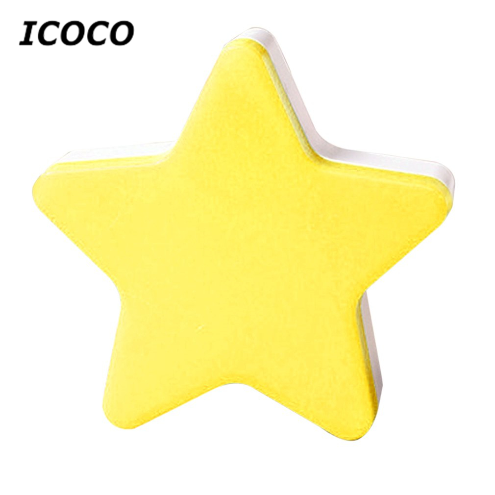 ICOCO Modern Star Shape Wall Light LED Induction Lamp Nightlight Automatic Switch Light Sensor Household Supplies Energy Saving