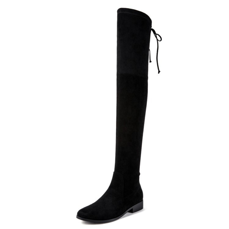 2019 autumn and winter new over the knee boots elastic boots stovepipe high boots womens boots black ljj 04062019 autumn and winter new over the knee boots elastic boots stovepipe high boots womens boots black ljj 0406