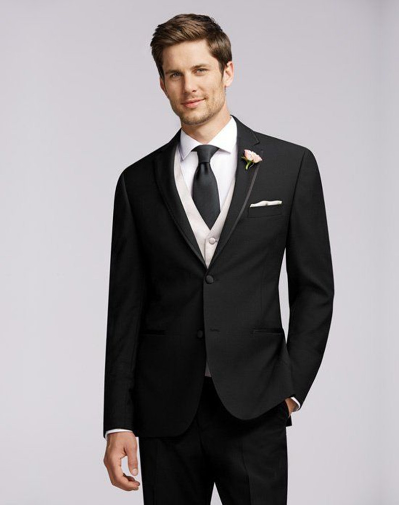 Fitted Black Suits Promotion-Shop for Promotional Fitted Black ...