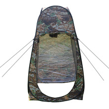 Outdoor Camouflage Toilet Tent Privacy Shelter Quick Open Barraca Portable Mobile Shower Tipi For Travel Vacation Bath Tenda