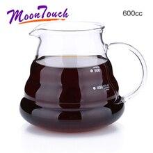 New Design Glass Coffee Teapot Share Pot Clouds Heat Resistant Barista Cloud Lovely Tea Sets