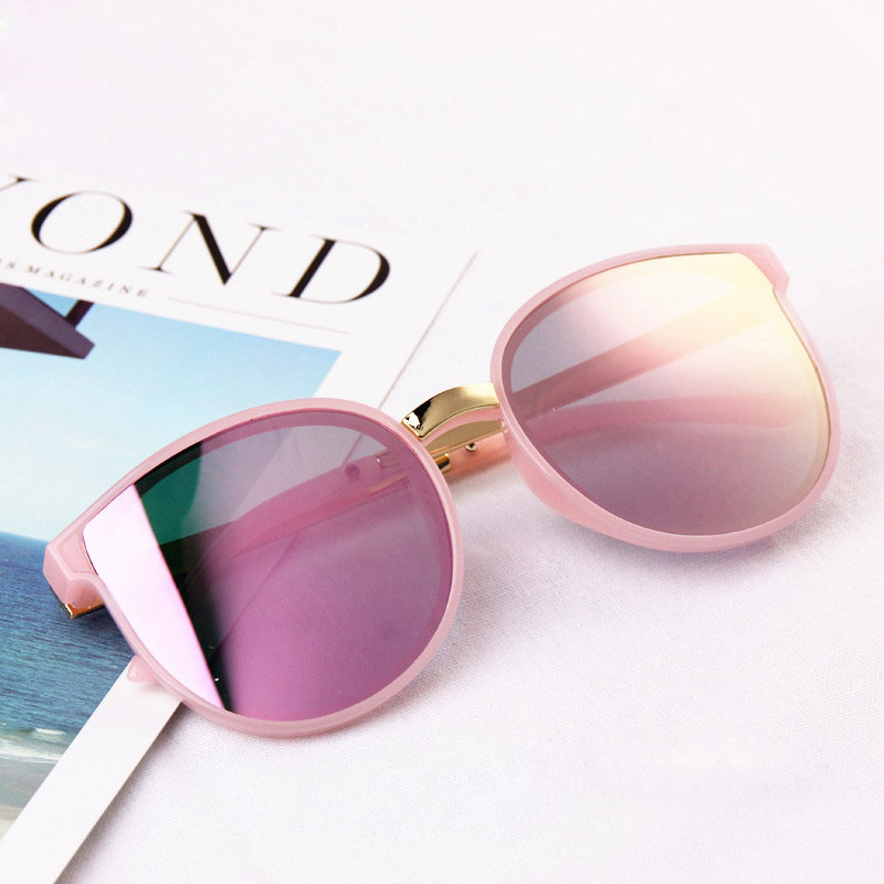 Girls' Clothing 2019 Big Frame Children Fashion Sunglasses Gold Leg Cute Baby Girls&boys Sun Glasses Uv400 Summer Protect Eye Oculos N71 100% Guarantee