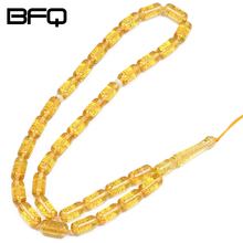 BFQ Fashion Muslim Goods Multi-color Resin Materials Imitation Rosary Tasbih Prayer Beads Islamic Misbaha IA-MR015