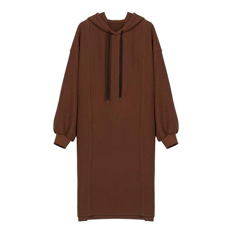 Warm Long Sleeve Maternity Dresses With Hat Preppy Style Thickened Nursing Clothing With Cotton Fashion Pregnancy Dresses