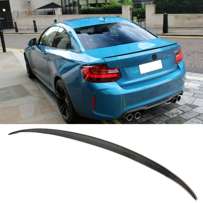 M2 Style Carbon Trunk Small Spoiler Fit For BMW F22 2-Series 220i - Ավտոպահեստամասեր