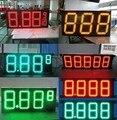 """12 """"открытый красный зеленый желтый цвет LED цен на нефть светодиодная вывеска азс номер светодиодная вывеска"""