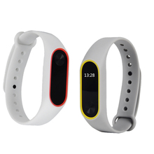 Xiao Mi mi Band 2 Strap with Silicone Replacement Smart Bracelet Colorful M2 miband 2 Miband2 Strap For xiaomi Band Bracelet 2