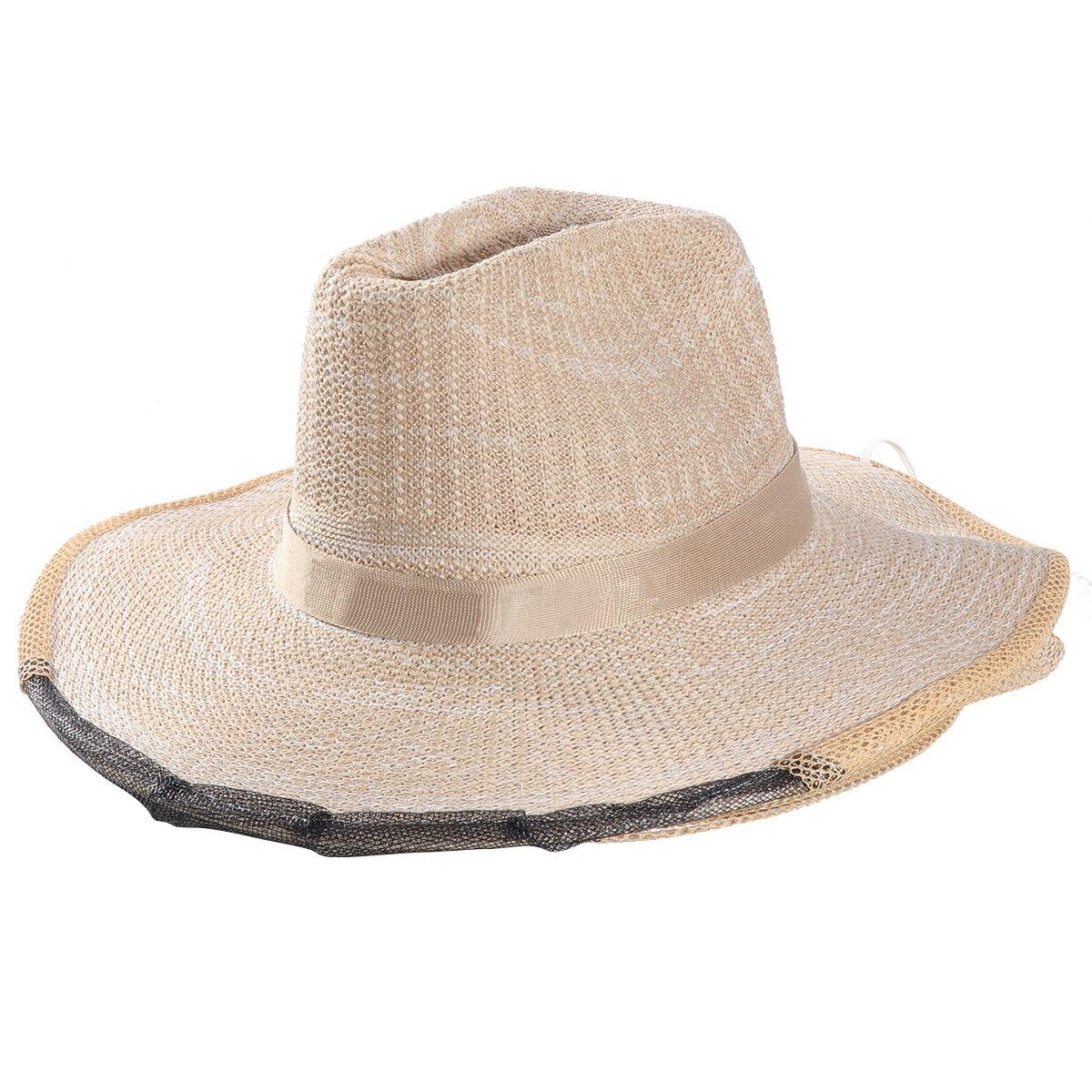 Mosquito insecto abeja insecto repelente malla neto Protector vaquero sombrero  cabeza Protector 3086df61611