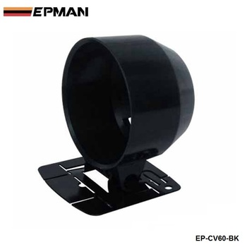 1 GAUGE 60MM HOLDER COVER (black) 1pcs-60mm black For BMW E30 M20 325 325i 6cy 1988-1993 EP-CV60-BK image