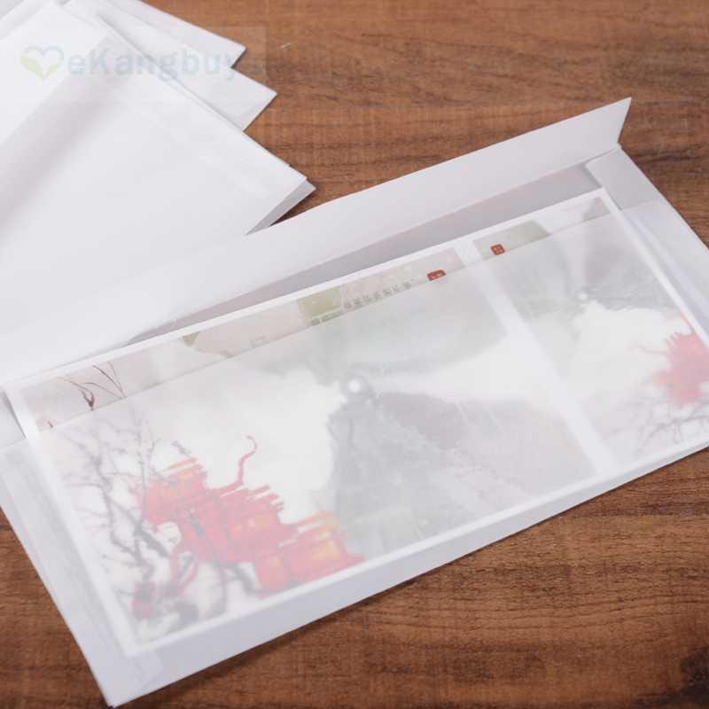 Прозрачные конверты для открыток