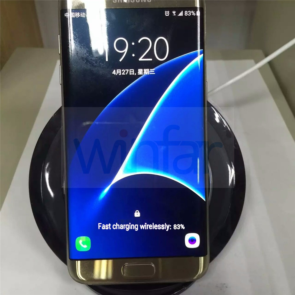 Original Vertical Wireless Fast Charge Pad EP-NG930 Charging Dock Stand For Samsung Galaxy S6S7S7 Edge Note 5 100% Fast Charge