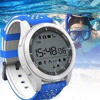 LED Touch Smart Watch Men Clock Waterproof Sports Fitness Watch Women Rubber Smartwatch Bracelet calorie consumption Watch Gift