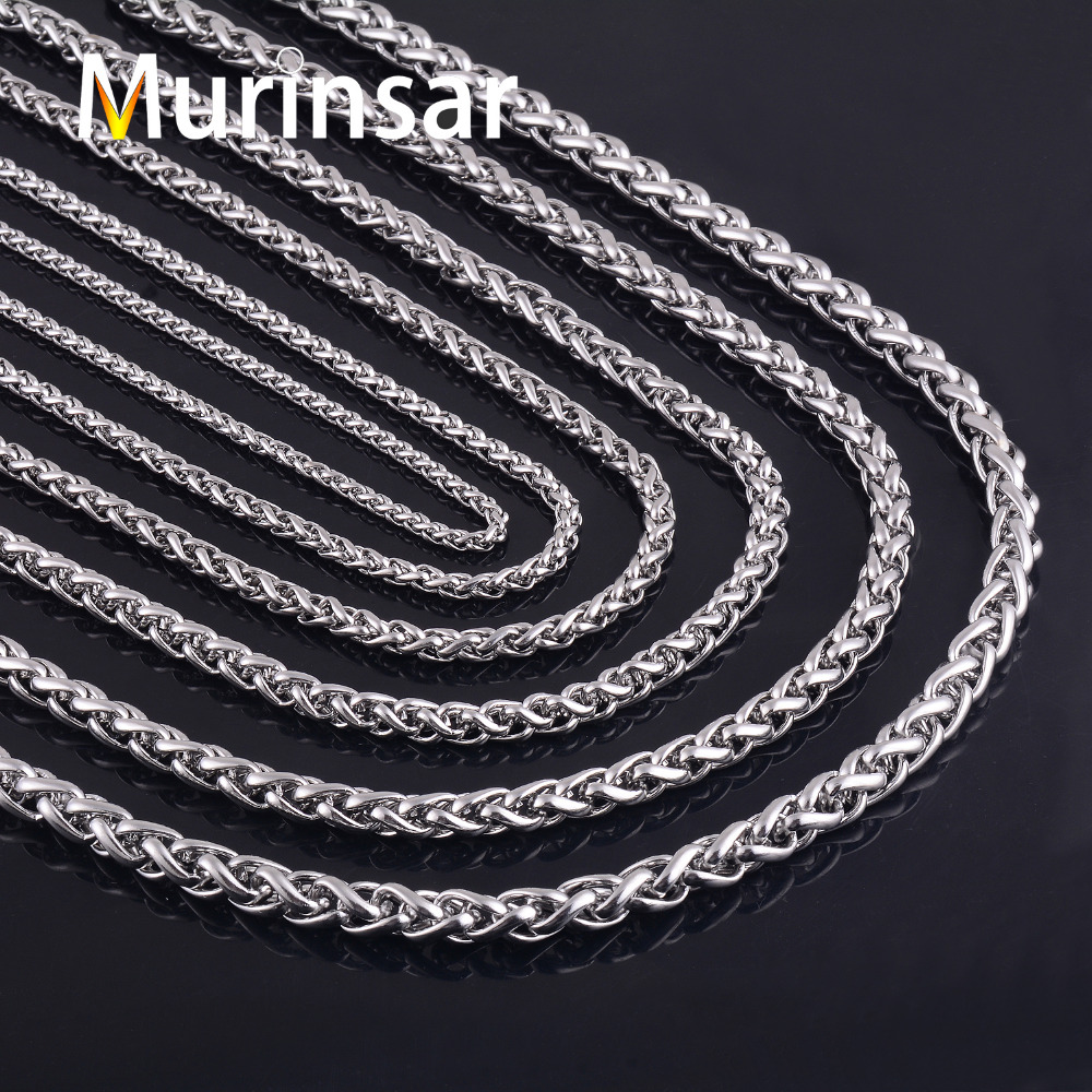 Murinsar Necklace Customized Round Link Chain Jewelry