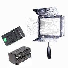 Ulanzi YONGNUO YN300 III 5500 K NP-F750 Pil Şarj Kiti ile Kamera Video Işığı Fotoğraf Üzerinde Sürekli Çıkış Işık