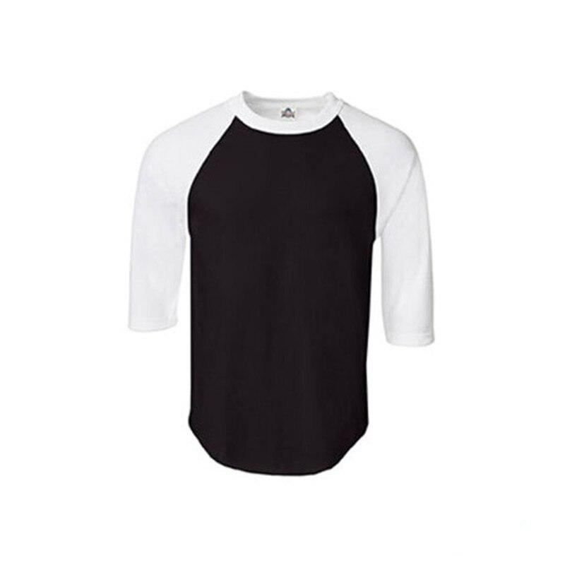 3cc5369f New Raglan 3/4 Sleeve Baseball Mens Plain Tee Jersey Team T-Shirt S-3XL