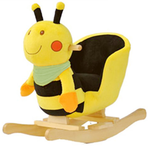 Animal Rocking Chair Wheelchair Narrow Plush Bee Baby Bouncer Seat Swinging Brand Toys Gift Horse Deliver From Germany