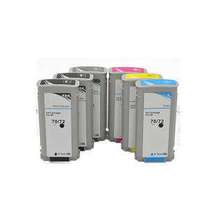 Image 2 - Compatible for HP72 HP72 72 hp72 ink cartridges for HP Designjet T1100 T1120 T1120ps T1100ps 1100 T610T1100 printer