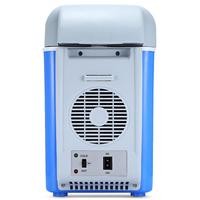 12V 7.5L Mini Portable Car Refrigerator Freezer Multi Function Cooler Warmer Thermoelectric Electric Fridge Compressor Storage