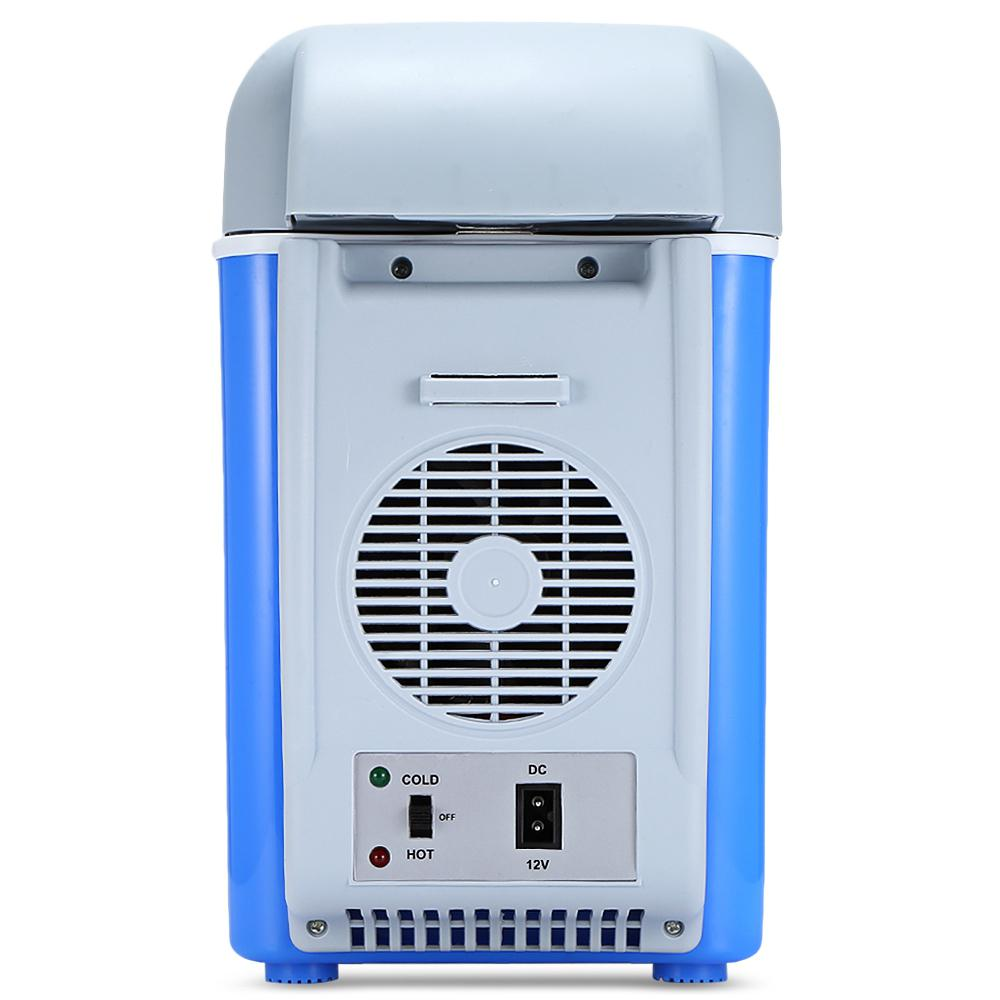12V 7.5L Mini Portable Car Refrigerator Freezer Multi-Function Cooler Warmer Thermoelectric Electric Fridge Compressor Storage
