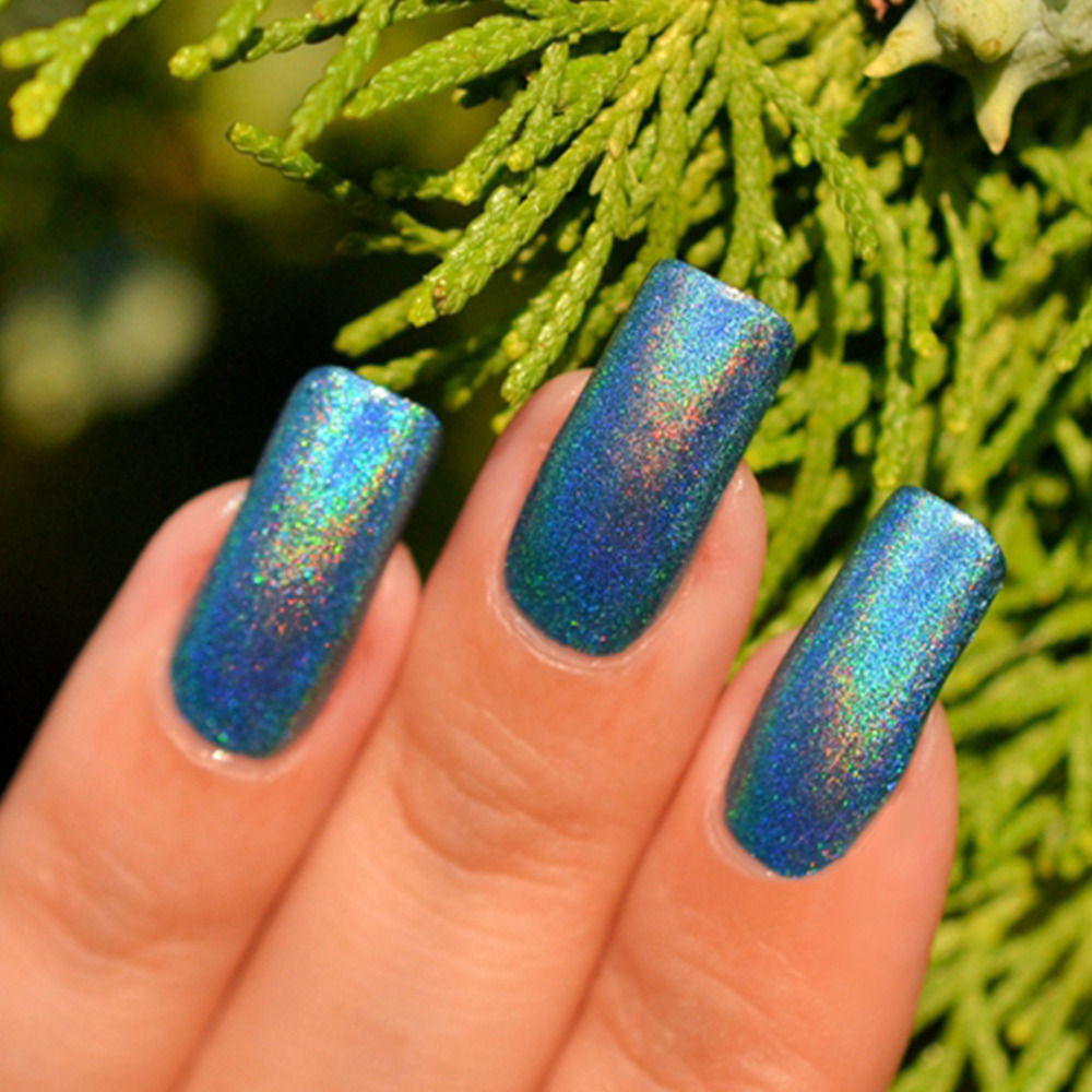 Gel Len Holographic Halo Glitter Nail Polish 10ml Soak Off 3d Color Change Uv Varnish High Quality In From Beauty Health On