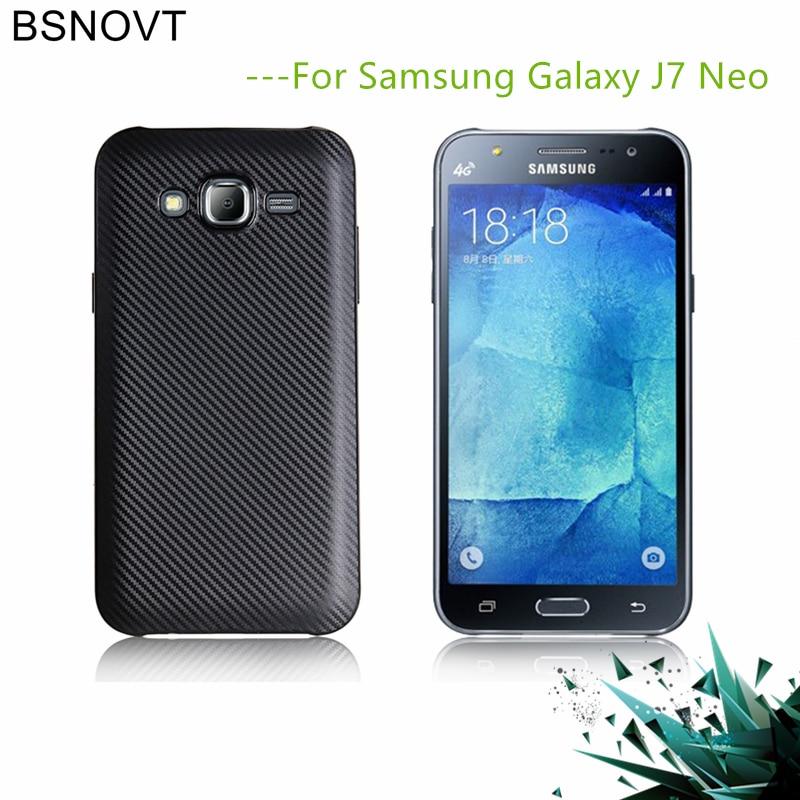 6f048747a85 sFor Samsung Galaxy J7 Neo Case Soft Carbon fiber Slim TPU Phone Case For  Samsung Galaxy J7 Neo Cover For Samsung J7 Nxt Funda