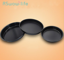 8/9/10 Inch Round Light Pizza Dish Household Pizza Baking Tray Mould Barbecue Baking Tool For Home Kitchen Tools