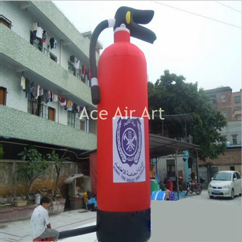 Replica inflatables item opblaasbare brandblusser voor giant reclame decoratie - 2